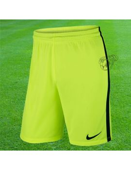 Boutique pour gardiens de but Shorts Joueur (sans protection)  Nike - Short Knit league Jaune fluo 725881-702