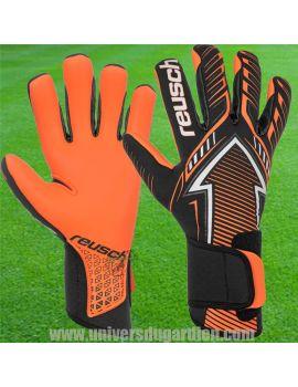 Reusch - Gants Freccia Noir Orange Fluo 3970904-783 / 43 Gants de gardien Match dans votre boutique en ligne Univers du Gardien