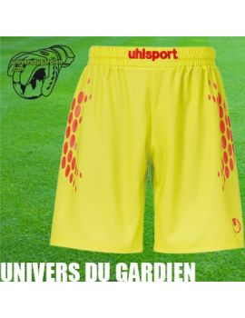 Boutique pour gardiens de but Shorts Joueur (sans protection)  UHLSPORT - ANATOMIC ENDURANCE GK SHORT LIME SR 100552603 / 12