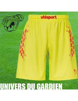 Boutique pour gardiens de but Shorts gardien junior  UHLSPORT - ANATOMIC ENDURANCE GK SHORT LIME JR 100552603