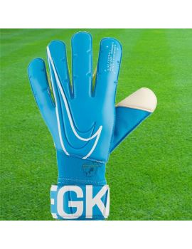 Gants de foot Nike - Vapor Grip 3 Bleu Gants de Gardien