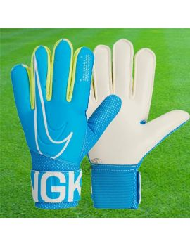 Boutique pour gardiens de but Gants de gardien junior  Nike - Gants Gk Match Junior 2019 Bleu GS3883-486 / B62