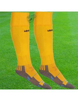Boutique pour gardiens de but Chaussettes gardien  Uhlsport - Chaussettes Team Pro Player Orange Noir 1003691 13