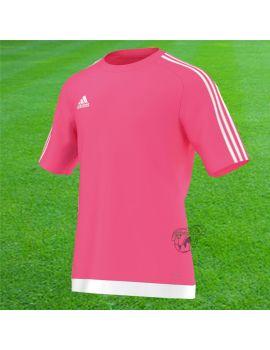 Adidas - Maillot Estro MC Rose Fluo S16163 / 231 Maillot manches courtes boutique en ligne Gardien de but