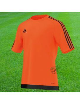 Adidas - Maillot Estro MC orange Noir S16164 Maillot manches courtes boutique en ligne Gardien de but
