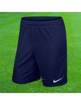 Boutique pour gardiens de but Shorts Joueur (sans protect.)  Nike - Short Knit Park II Bleu Marine 725887 410