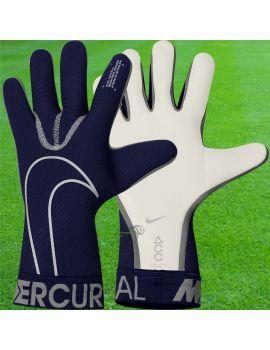 Nike - Gant de gardien de but de foot Mercurial Touch Elite Bleu