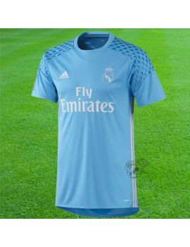 Adidas - Maillot Gardien de but Real Madrid Bleu ciel AI5175 Maillot manches courtes boutique en ligne Gardien de but