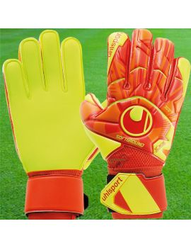 Boutique pour gardiens de but Gants avec barrettes junior  Uhlsport - Dynamic Impulse Soft FLEXframe Junior 1011146-01 / 132