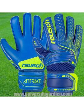 Boutique pour gardiens de but Gants de gardien junior  Reusch - Attrakt S1 Junior 5072215-4949 / 152