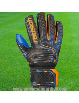 Boutique pour gardiens de but Gants avec barrettes junior  Reusch - Attrakt S1 Finger Support Junior 5072230-7083 / 162