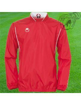 Boutique pour gardiens de but Coupe-vent / sweat  UHLSPORT - TRAINING WINDBREAKER ROUGE/BLANC 11 100204701
