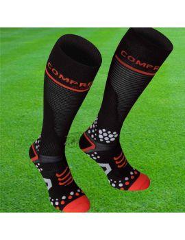 Boutique pour gardiens de but Chaussettes gardien  CompresSport - Chaussettes de compression V2 Noir FSV211-99T3-43