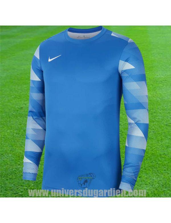 Boutique pour gardiens de but Maillots manches longues  Nike - Maillot gardien de but Park IV Bleu Royal / Blanc CJ6066-463 / 94