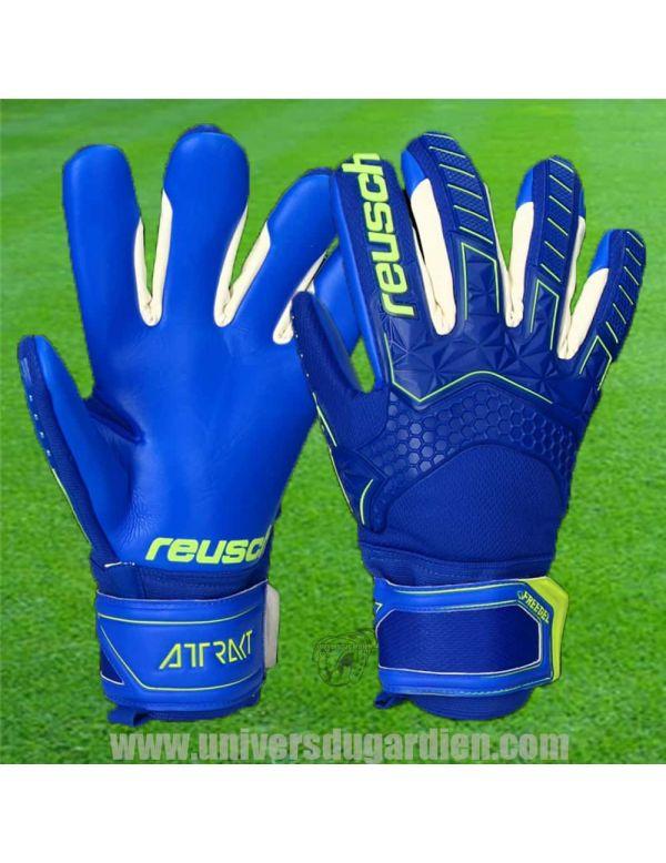 Reusch - Attrakt Freegel S1 Bleu 5070235-4949 / 211 Gants Entraînement / match dans votre boutique en ligne Univers du Gardien