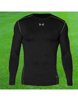Boutique pour gardiens de but Sous maillots gardien  Under Armour - Sous maillot Coldgear Crew Noir 1265650 001