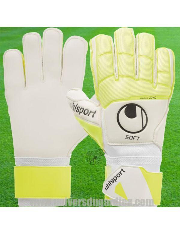Boutique pour gardiens de but Gants de gardien junior  Uhlsport - Pure Alliance Soft FlexFrame Junior 1011171-01 / 142