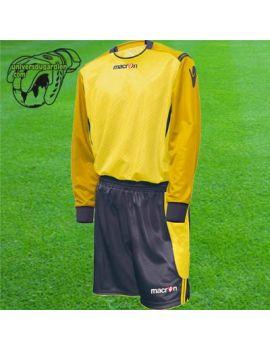 Boutique pour gardiens de but Kit Gardien (maillot  short)  MACRON - BRISBANE SET JAUNE / ANTHRACITE 2011 5450/0528