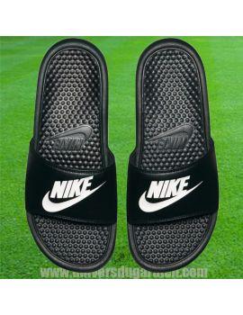 Boutique pour gardiens de but Sandales / Claquettes  Nike - Claquette Benassi JDI Black 343880-090 / MAG