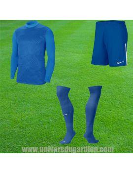Boutique pour gardiens de but Kit Gardien (maillot  short)  Pack Nike gardien III Bleu PackGKNikeB