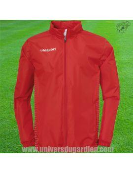 Boutique pour gardiens de but Coupe-vent junior  Uhlsport - Coupe vent Score Rain Rouge Junior 1003352-04