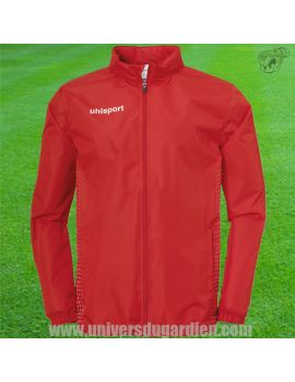 Boutique pour gardiens de but Coupe-vent / sweat  Uhlsport - Coupe vent Score Rain Rouge 1003352-04