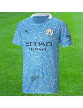Boutique pour gardiens de but T-shirt et Réplicas Jr  Puma - Maillot Manchester City Domicile Junior 757063-01
