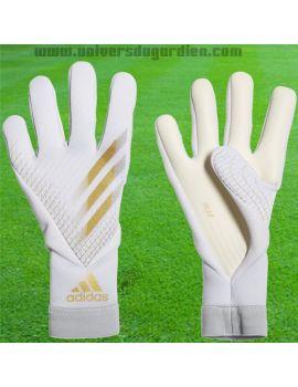Boutique pour gardiens de but Gants de gardien junior  ADIDAS - X 20 Pro Blanc Junior FS0421 / 113
