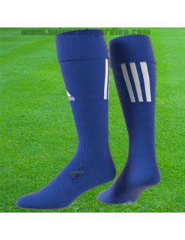 Boutique pour gardiens de but Chaussettes gardien  adidas - Chaussettes Santos 18 Bleu CV8095