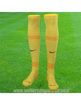 Boutique pour gardiens de but Chaussettes gardien  Nike - Chaussettes Matchfit Jaune CV1956-719 / 92