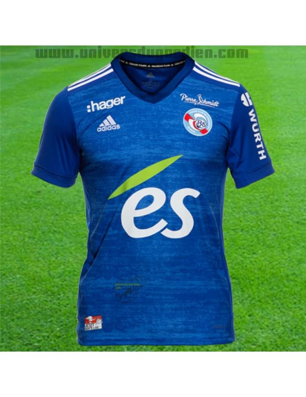 Boutique pour gardiens de but T-shirt et Réplicas Jr  adidas - Maillot Réplica Domicile RC Strasbourg Junior FI6186