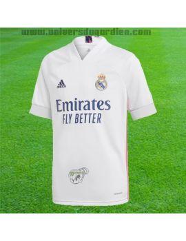 Boutique pour gardiens de but T-shirt et Réplicas Jr  adidas - Maillot Réplica Home Real Madrid Junior FQ7486