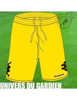 Boutique pour gardiens de but Shorts Joueur (sans protect.)  KAPPA - SHORT CIAMPINO JAUNE 3011OPO/694