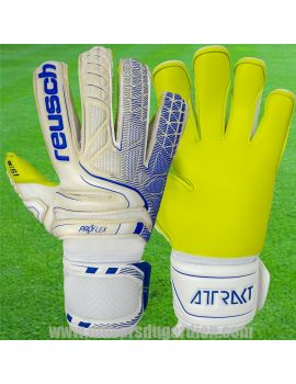 Reusch - Attrakt S1 Evolution Blanc 5070139-1091 / A163 Gants de Gardien de But Reusch boutique en ligne Gardien de but