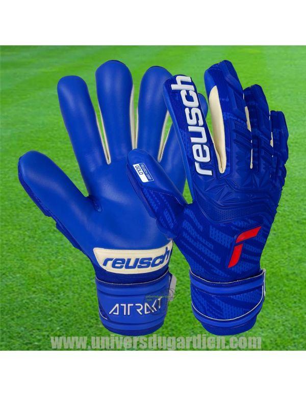 Reusch - Attrakt 21 Freegel Gold Finger Support 5170130-4010 / 35 Gants avec Barrettes protection match boutique en ligne Gar...