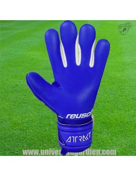 Boutique pour gardiens de but Gants avec barrettes junior  Reusch - Attrakt 21 Freegel Silver Finger Support Junior 5172238-4...
