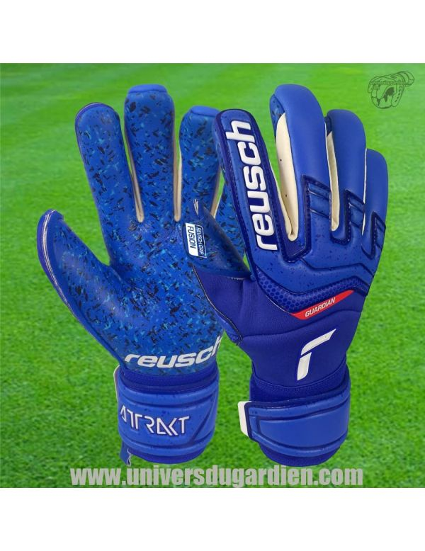 Reusch - Attrakt 21 Fusion Guardian 5170985-4010 / 45 Gants de Gardien Match boutique en ligne Gardien de but
