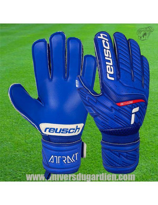 Boutique pour gardiens de but Gants de gardien junior  Reusch - Attrakt 21 Silver Junior 5172215-4010 / 33