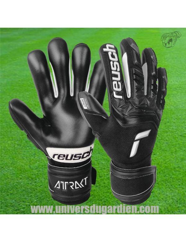 Reusch - Attrakt 21 Freegel Infinity Finger Support 5170730-7700 / 222 Gants Spécifiques Terrain Dur Synthé boutique en ligne...