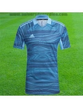 adidas - Maillot manches courtes Condivo 21 Bleu GT8426 / 181 Maillot manches courtes boutique en ligne Gardien de but
