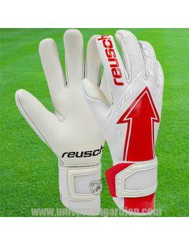 Reusch - Gants Pure Contact Arrow Gold X Blanc et Rouge 5170908-1015 / 45 Gants de Gardien Match boutique en ligne Gardien de...