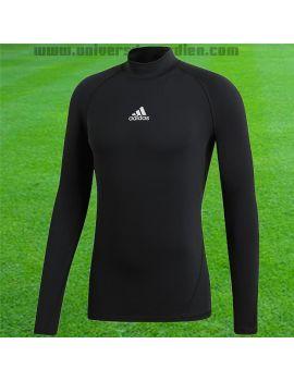 Boutique pour gardiens de but Sous maillots gardien  Adidas - Maillot compression manches longues Noir DP5534 / 173