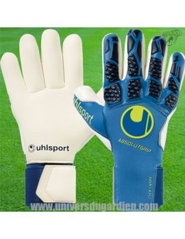 Uhlsport - HYPERACT Absolutgrip Finger Surround 1011234-01 / 73 Gants de Gardien Match boutique en ligne Gardien de but