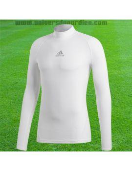 Boutique pour gardiens de but Sous maillots gardien  Adidas - Maillot compression manches longues Blanc DP5536 / 173
