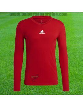 Boutique pour gardiens de but Sous maillots gardien  adidas - Team Base TEE Rouge GN5674 / 242