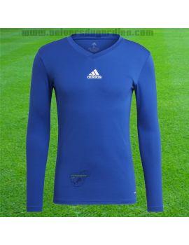 Boutique pour gardiens de but Sous maillots gardien  adidas - Team Base TEE BLEU GK9088 / 183