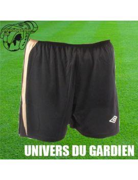 Boutique pour gardiens de but Shorts Joueur (sans protect.)  UMBRO - SHORT EURO NOIR / OR 2300574/240