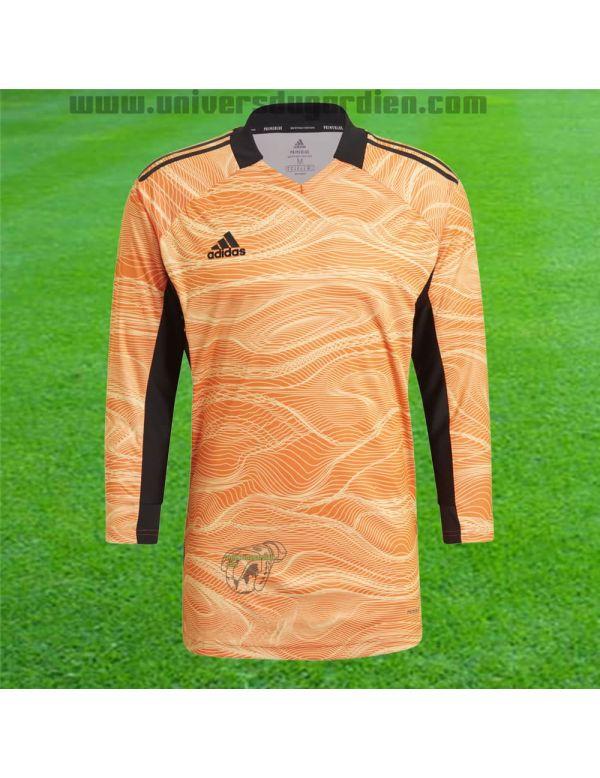 adidas - Maillot manches longues Condivo 21 Orange GJ7700 / 182 Maillots manches longues boutique en ligne Gardien de but