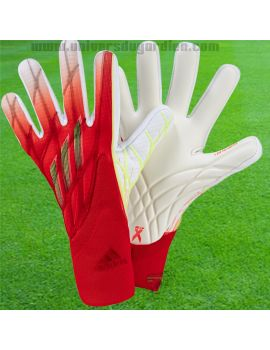ADIDAS - X GL Pro Rouge Blanc GR1543 / 113 Gants de Gardien Match boutique en ligne Gardien de but