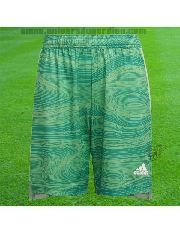 Boutique pour gardiens de but Shorts gardien junior  adidas - Short GK Condivo 21 vert Junior GT8398 / 172